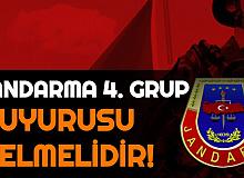 Jandarma Uzman Erbaş Alımı 4. Grup Duyurusu Gelmelidir