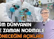 Koronavirüs Ne Zaman Bitecek? Bill Gates Tüm Dünya için Tarih Verdi