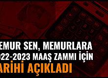 Memur Sen, Kamu Personellerinin 2022 ve 2023 Maaş Zammı İçin Tarihi Açıkladı