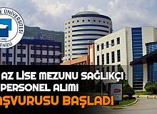Pamukkale Üniversitesi Sağlıkçı ve Personel Alımı Yapacak: İşte Başvuru
