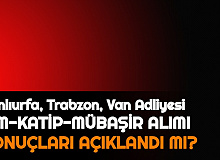 Şanlıurfa Adliyesi, Trabzon Adliyesi, Van Adliyesi Sonuçları Açıklandı mı 2021 | İKM, İcra Zabıt Katibi, Mübaşir Alımı