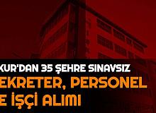 Sekreter, İşçi, Sağlık Personeli... 35 Şehre İŞKUR'dan Sınavsız Personel Alımı
