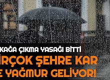 Sokağa Çıkma Yasağı Bitti: Bu Şehirlerde Kar ve Yağmur Başlıyor (İstanbul, Ankara, İzmir Hava Durumu)