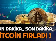 Son Dakika: Bitcoin Fırladı (1 BTC Fiyatı Kaç TL İşte Grafik ve Yorumları)