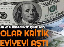 Son Dakika: Dolar/TL Kritik Seviyeyi Aştı