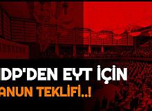 TBMM'ye Geldi: HDP'den EYT İçin Kanun Teklifi