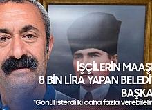 Tunceli Belediyesi'nde İşçi Maaşları 8 Bin Liraya Kadar Yükseldi
