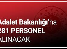 Adalet Bakanlığı'na 281 Personel Alınacak (CTE ve Adli Tıp Kurumu Personel Alımı) Başvuruları Sürüyor