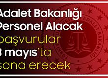Adalet Bakanlığı'na Sözleşmeli Personel Alımı Başvuruları Sürüyor! Son Başvuru Tarihi 3 Mayıs