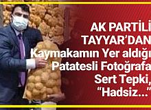 AK Partili Şamil Tayyar'dan Kaymakama Sert Tepki: Hadsiz...