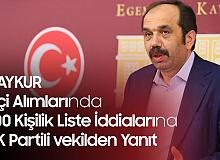 """AK Partili Vekilden """"ÇAYKUR'daki İşçi Alımı için 300 Kişilik Liste"""" İddiasına Sert Yanıt"""