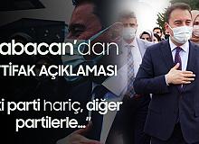 Ali Babacan'dan İttifak Açıklaması:İki Parti Haricindeki Partilerle İlişki Zeminimiz Sıcak