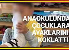 Anaokulunda Skandal! Çocuklara Ayağını Koklatan Öğretmen Büyük Tepki Çekti