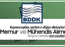 BDDK Memur Alımı ve Mühendis Alımı Başvurularında Son Saatler