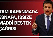 Bursa Milletvekili Erkan Aydın: Garanti Verdiğiniz Sözleşmeli İşlerdeki Ödemeleri Tam Kapanma Sürecinde Esnafa, İşsize Aktarın..