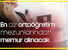Bursa Osmangazi Belediyesi'ne Zabıta Memuru ve Memur Alımı Yapılacak