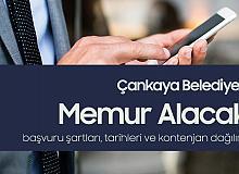 Çankaya Belediye Başkanlığı'na Memur Alımı Başvuruları 16-22 Nisan'da Alınacak