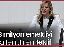 İYİ Parti Isparta Milletvekili Aylin Cesur'dan Emekli Maaşlarının İyileştirilmesi için Meclis Araştırma Önergesi