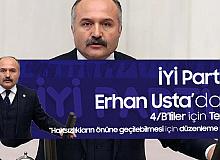 Erhan Usta, Kamuda Görevli Sözleşmeli Personel (4/B)  için TBMM'ye Araştırma Önergesi Verdi