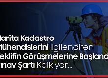 Harita Kadastro Mühendislerini İlgilendiren Teklifin Görüşmeleri Başladı! Sınav Şartı Kaldırılıyor...