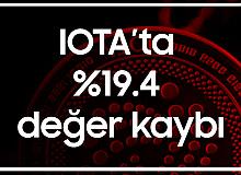 IOTA'da Bir Günde%19 Değer Kaybı...