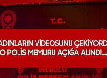 Kadınların Videosunu Çeken Polis Memuru Açığa Alındı