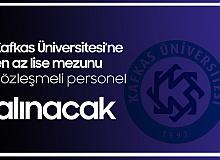 Kafkas Üniversitesi'ne 58 Sözleşmeli Sağlık Personeli Alımı Yapılacak