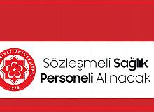 Sivas Cumhuriyet Üniversitesi'ne Sözleşmeli Sağlık Personeli Alınacak