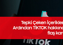 Tepki Çeken İçerikleri Kaldırmayan Tiktok'la İlgili Flaş Karar