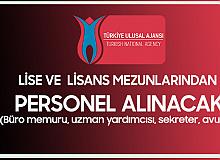 Türkiye Ulusal Ajansı'na Uzman Yardımcısı, Avukat, Büro Memuru Alımı ve Sekreter Alımı Yapılacak