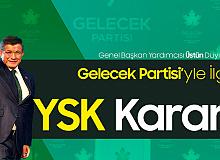 YSK'dan Ahmet Davutoğlu'nun Liderliğindeki Gelecek Partisiyle İlgili Karar Çıktı
