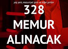12 Mayıs'ta Yayınlanan 2 Farklı İlanla 328 Memur Alımı Yapılacak