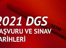 2021 DGS Başvuruları 21 Mayıs'ta Başlayacak