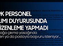 Adaylar, SPK Personel Alımı için Başvuruların Online Alınmasını Talep Ediyor!