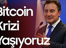 Ali Babacan'dan Kripto Para Açıklaması: Bitcoin Faciası Yaşıyoruz
