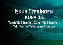 Ankara Üniversitesi'ne Temizlik Görevlisi, Güvenlik Görevlisi , Teknisyen ve Tekniker Alımı Yapılacak