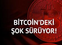 Bitcoin'de Şok Devam Etti! 40 bin Dolar Seviyelerinde İşlem Görüyor