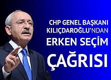 CHP Genel Başkanı Kılıçdaroğlu'ndan Erken Seçim Çağrısı: Allah'ını Seversen Seçimden Kaçma, Artık Kaçma Kardeşim