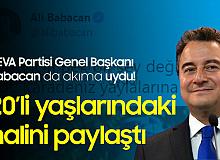 Deva Partisi Genel Başkanı Ali Babacan 20'li Yaşlarındaki Halini Paylaştı