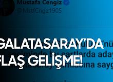 Galatasaray Başkanı Mustafa Cengiz'den Açıklama Geldi! Aday Olmayacak...