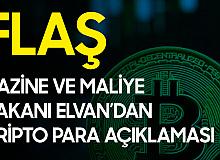 Hazine va Maliye Bakanı Elvan'dan Kripto Para Uyarısı