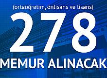 İBB'ye Ortaöğretim, Önlisans ve Lisans Mezunlarından KPSS 60 Puan Şartıyla 278 Memur Alımı Yapılacak