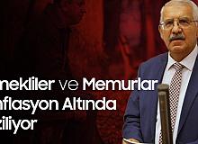 İYİ Partili Yokuş: Emekli ve memurlar enflasyon altında eziliyor