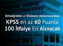 İzmir Büyükşehir Belediyesi'ne Ortaöğretim ve Önlisans Mezunlarından 100 İtfaiye Eri Alımı Yapılacak