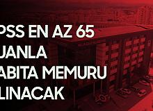 Kayseri Melikgazi Belediyesi'ne Zabıta Memuru Alımı Yapılacak