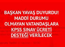 Mansur Yavaş Duyurdu! Maddi Durumu Olmayan Ankaralılara KPSS Ücret Desteği Verilecek
