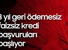 Mustafa Varank Açıkladı! 3 Sene Geri Ödemesiz, Faizsiz kredi Başvuruları Başlıyor
