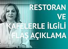 """Prof. Dr. Esin Davutoğlu Şenol'dan """"Restoranlar ve Kafelerle"""" İlgili Flaş Açıklama: 6 Aydır Kapalı , İşe Yaradı mı?"""