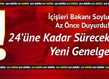 Ramazan Bayramı Tedbirleri Açıklanıyor!  İçişleri Bakanı Soylu: 24'üne Kadar Sürecek...