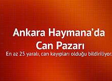 Son Dakika! Ankara Haymana'da Can Pazarı: Ölü ve Yaralılar Var...